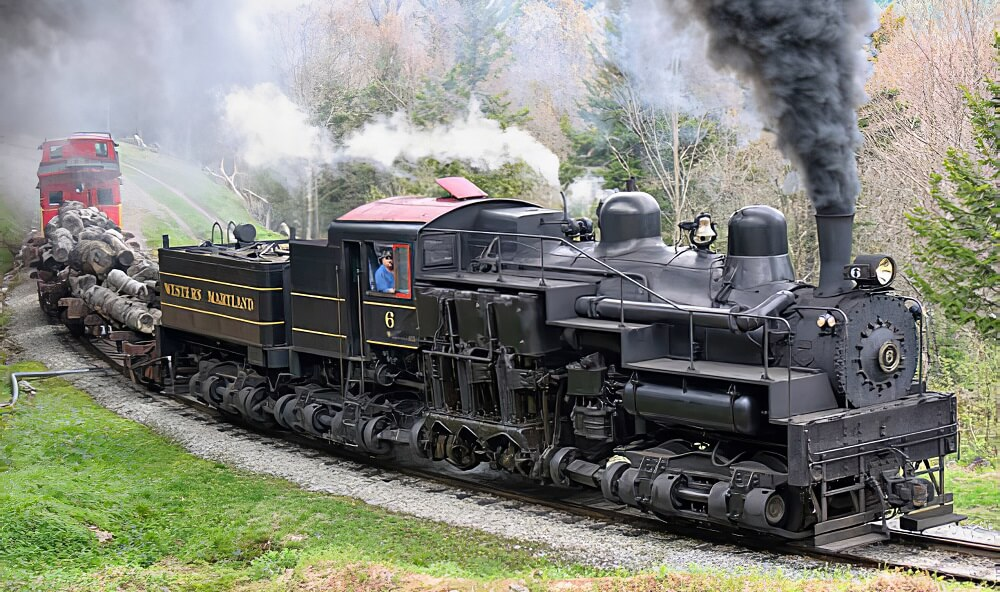 Cass Scenic Railroad [Places To Visit In West Virginia]